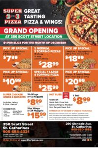 Grand Opening Pizza Deals